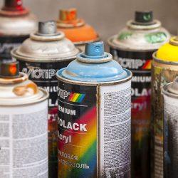 Spray & bättringsfärg